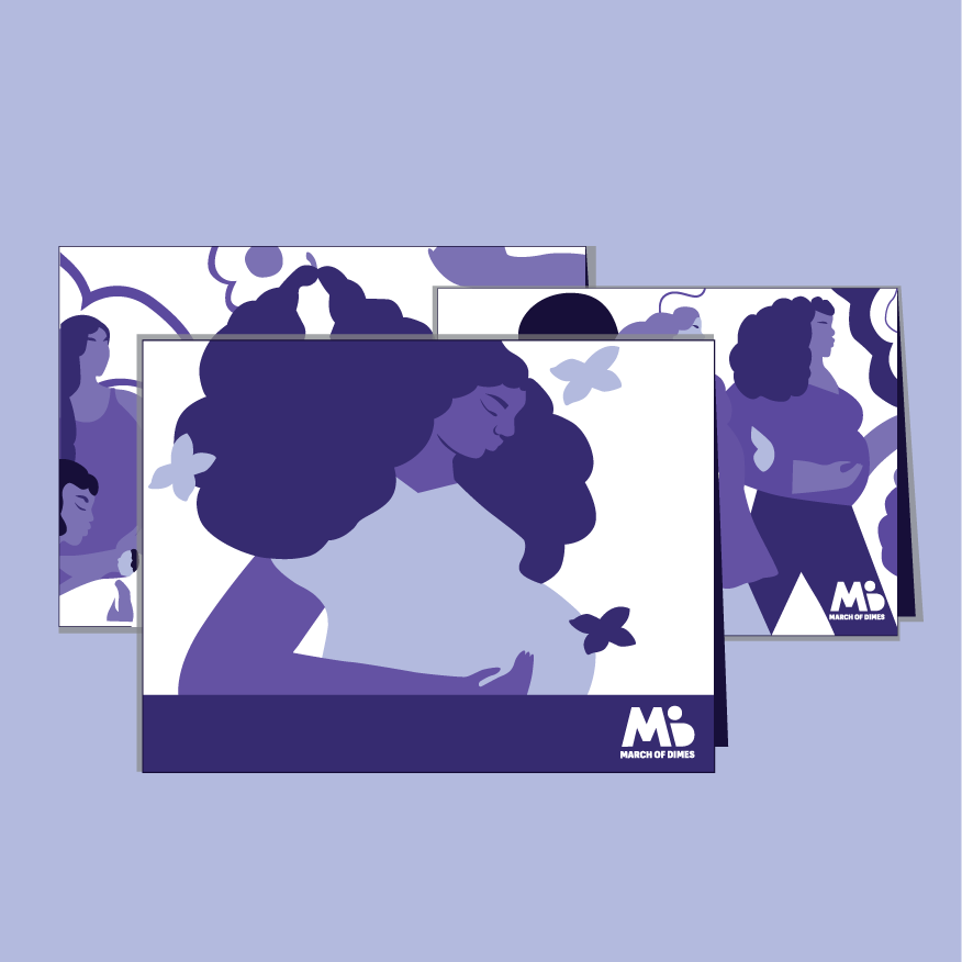 March of Dimes notecards